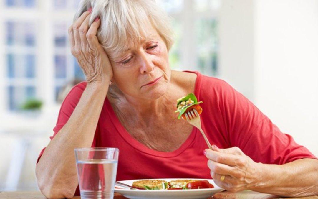 Warum verliert man den Appetit, wenn man älter wird?